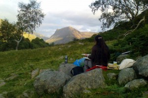 Plein Air Painting in the Lakes 2007