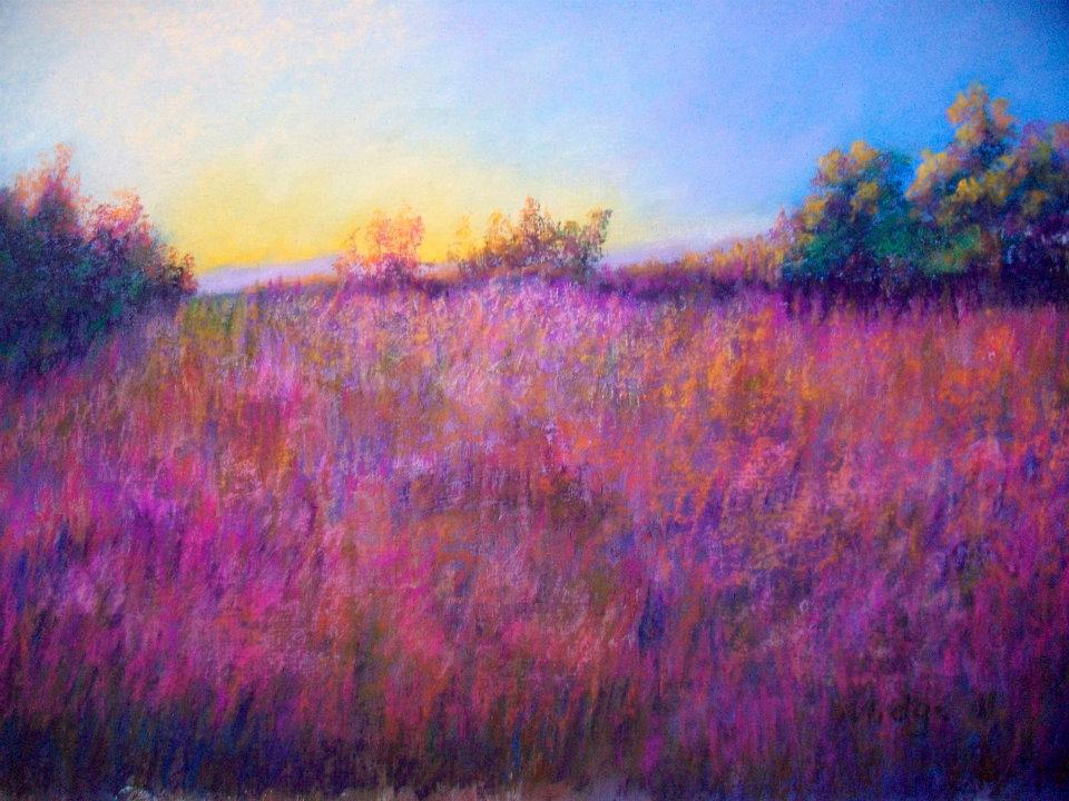 Torcello Meadow (Sunset #2)