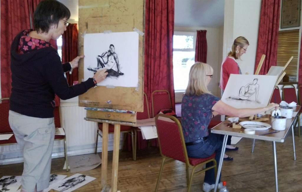 Life Drawing Class 2013