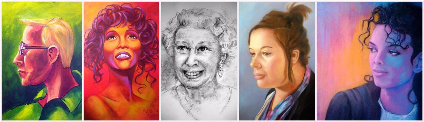 Portraits commissions