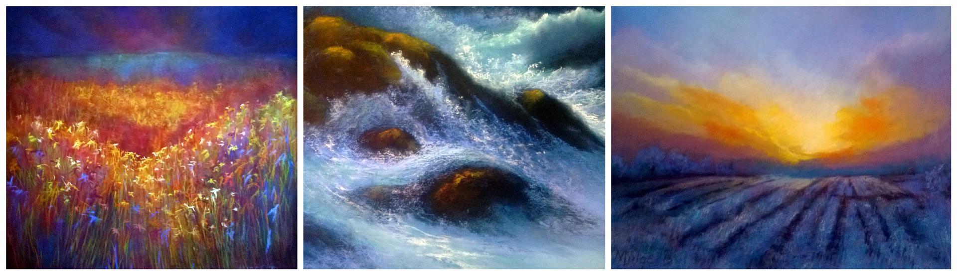 Artworks in Pastel, Acrylics & Oil