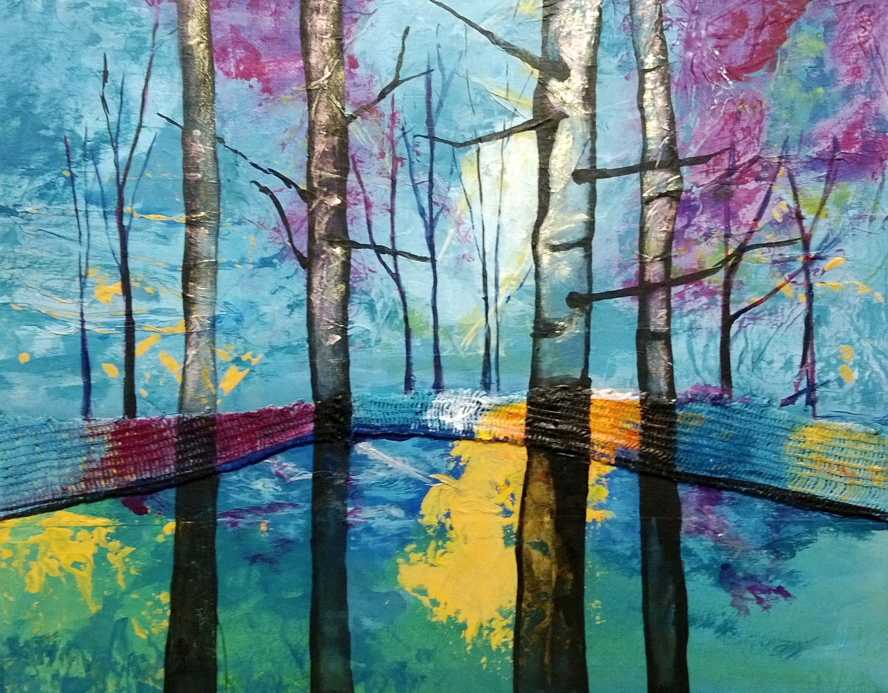 Birch Trees by Christine