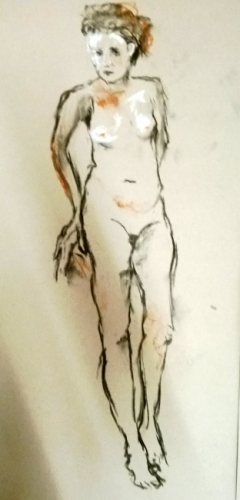 Standing (from 2014 Figurative Art Class)