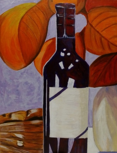 Still Life Study - Autumn Wine