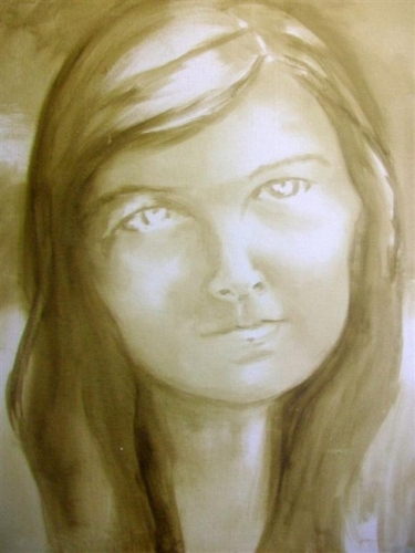 Jess (Oil Sketch)